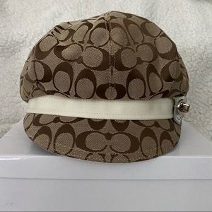 Brand New COACH Kristin Newsboy Hat